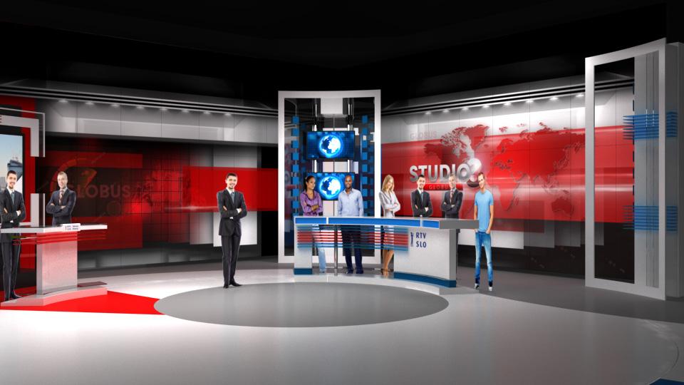 TEMMA X - RTV - STUDIO 3 - GLOBUS 0000